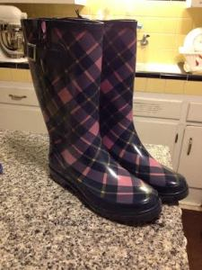 Boots! And they are plaid!!!