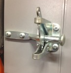 This is the latch we used (on display at Home Depot).