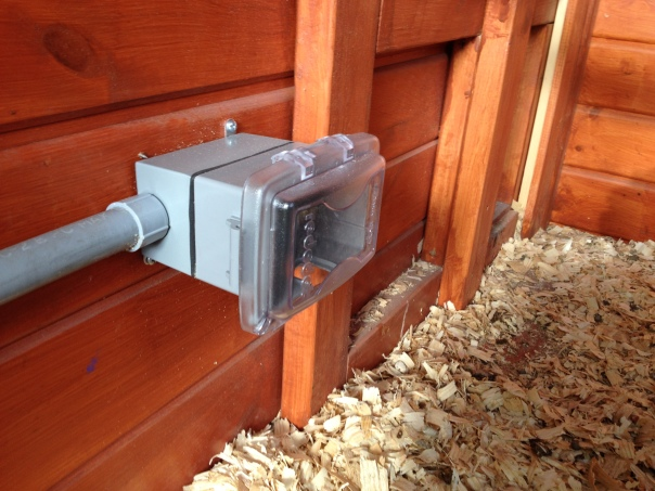 This outlet will power a radiant heat panel.
